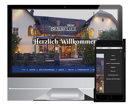 Webwerk Referenz Hirter Bier Braukeller