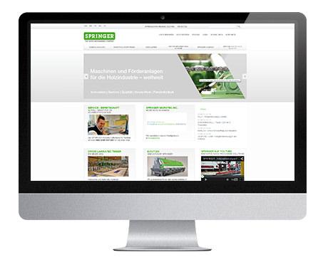 Referenzprojekt Springer Maschinenfabrik - WEBWERK - Kärnten, Österreich