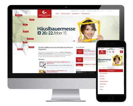 Referenzprojekt Kärntner Messen - WEBWERK - Kärnten, Österreich