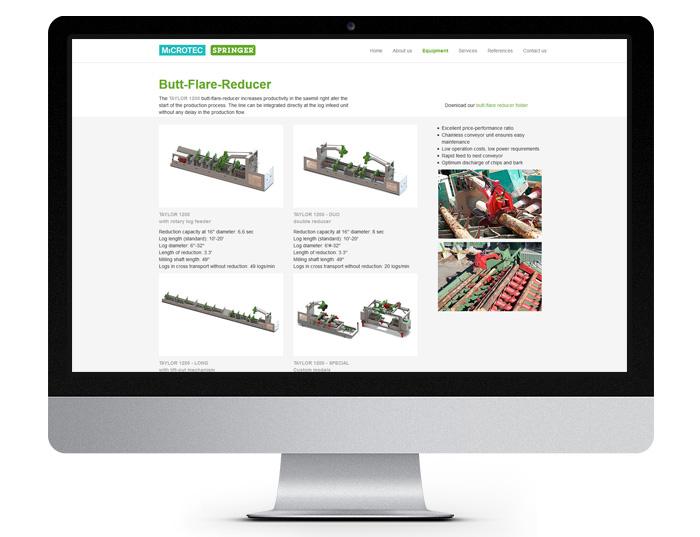 Springer Microtec - Butt-Flare-Reducer - Desktopansicht