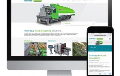 Neue Website von Springer Microtec by Webwerk