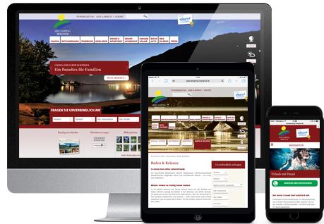 Neue responsive Website von Seecamping Berghof - by Webwerk