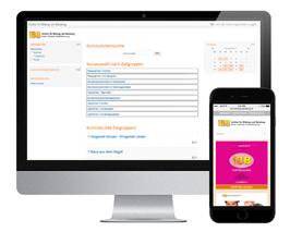 IBB - Institut für Bildung und Beratung - Responsive Webdesign