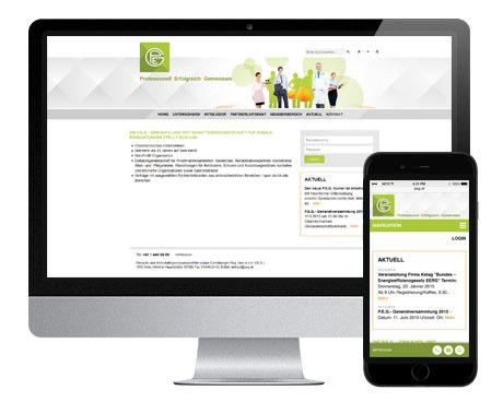 Wiener Einkaufsgenossenschaft P.E.G. - Responisve Website