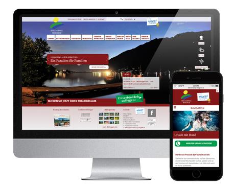 Seecamping Berghof - Responsive Webdesign