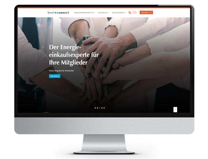 Webwerk Referenz bestconnect.info