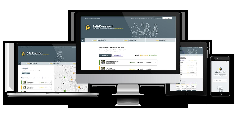 Digitale Bürgerbeteiligung via App oder am Desktop