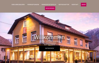 Webshop und Website für Herwig Ertl